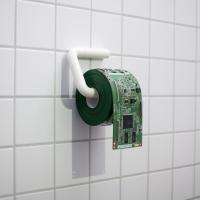 PCB toiletroll